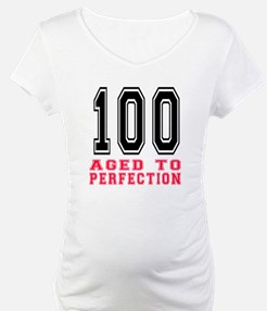 100 Aged To Perfection Birthday Shirt