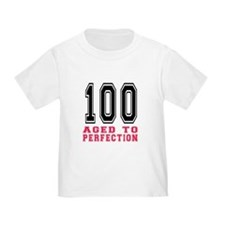 100 Aged To Perfection Birthday De T