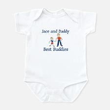 Jace & Daddy - Best Buddies Infant Bodysuit