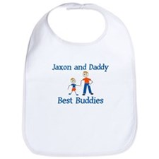 Jaxon & Daddy - Best Buddies Bib