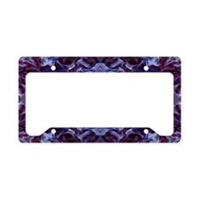 Deep Purple License Plate Holder