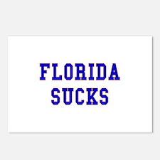 Florida Sucks Postcards (Package of 8)