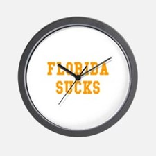 Florida Sucks Wall Clock