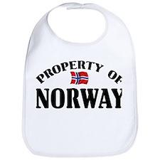Property Of Norway Bib