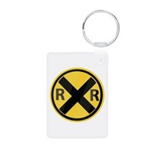 RR Crossing Keychains