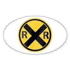 RR Crossing Decal