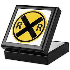 RR Crossing Keepsake Box