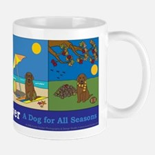 Labrador Retriever, A Dog for All Seasons Mug