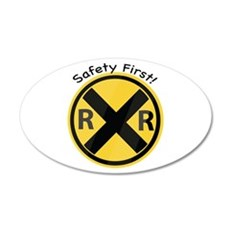 Safety First Wall Decal