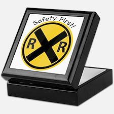 Safety First Keepsake Box
