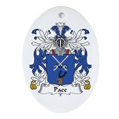Pace Oval Ornament