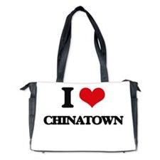 I love Chinatown Diaper Bag