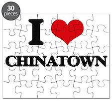 I love Chinatown Puzzle