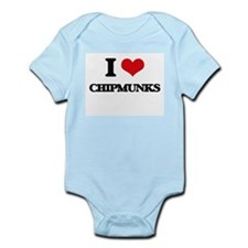 I love Chipmunks Body Suit