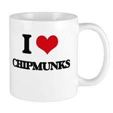 I love Chipmunks Mugs