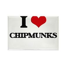 I love Chipmunks Magnets