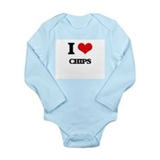I love Chips Body Suit
