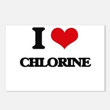 I love Chlorine Postcards (Package of 8)