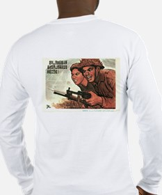 2-sided NLF/Vietcong Long Sleeve T-Shirt