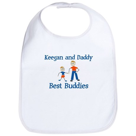 Keegan & Daddy - Best Buddies Bib