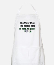 Resden Golf Ball BBQ Apron