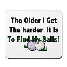 Resden Golf Ball Mousepad