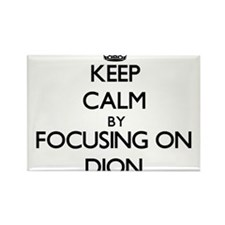 Keep Calm by focusing on on Dion Magnets