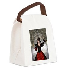 Beautiful Witch Canvas Lunch Bag