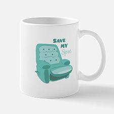 Save My Spot Mugs