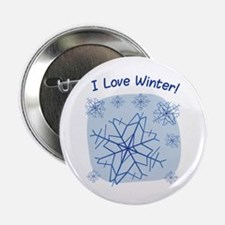 """I Love Winter! 2.25"""" Button (10 pack)"""