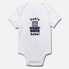 Let's Play Date babe Infant Bodysuit