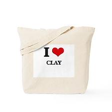 I love Clay Tote Bag
