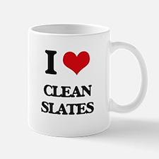I love Clean Slates Mugs