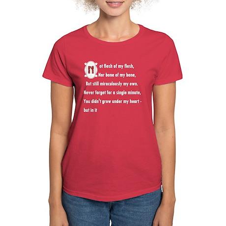 StepChild, Adopted Child Women's Dark T-Shirt