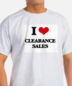 I love Clearance Sales T-Shirt