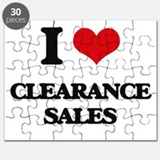 I love Clearance Sales Puzzle