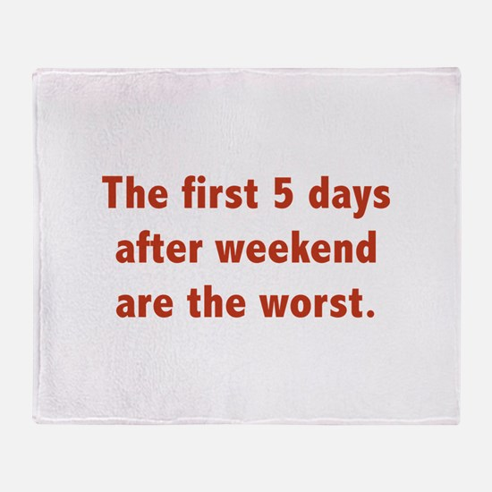 The First 5 Days After Weekend Are The Worst Stadi