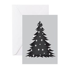 Cute Skull christmas Greeting Cards (Pk of 20)