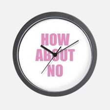 How About No Wall Clock