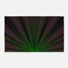 Psychedelic Shell Area Rug