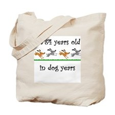 12 dog birthday 1 Tote Bag