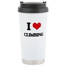 I love Climbing Travel Mug