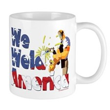 We Weld America Ironworker Mug