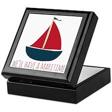Have A Maritime Keepsake Box
