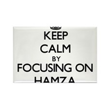 Keep Calm by focusing on on Hamza Magnets