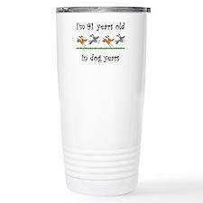 13 dog birthday 1 Travel Mug