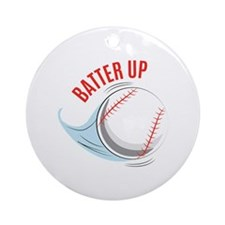Batter up Ornament (Round)