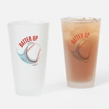 Batter up Drinking Glass