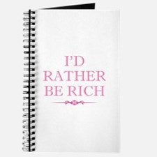 I'd Rather Be Rich Journal