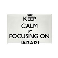 Keep Calm by focusing on on Jabari Magnets